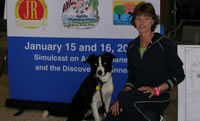 Robin Ford and her dog Reilly: 2005 AKC Nationals
